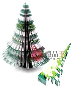 Christmas Tree 3D Memo Pad