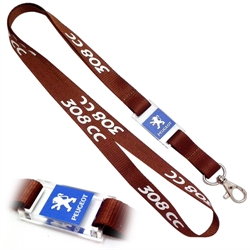 Lanyard with LED badge