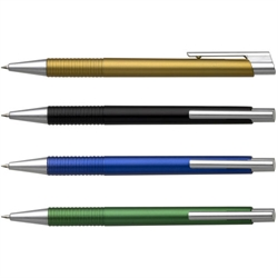 Plastic Ball Pen with Slim Clip