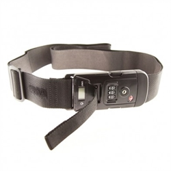 Luggage Strap with weight scale(TSA lock)