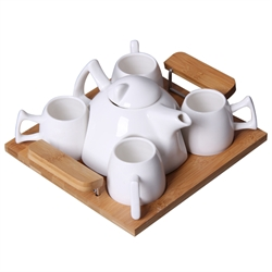 Ceramic Tea Set (5 in 1)